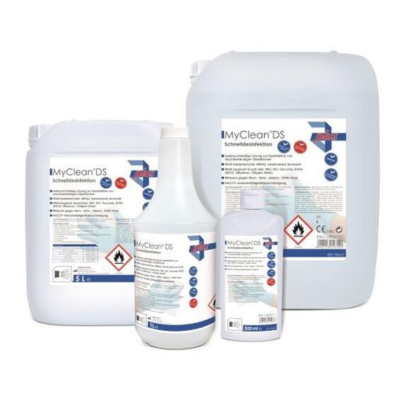MyClean DS Schnelldesinfektion - neutral 10 Liter