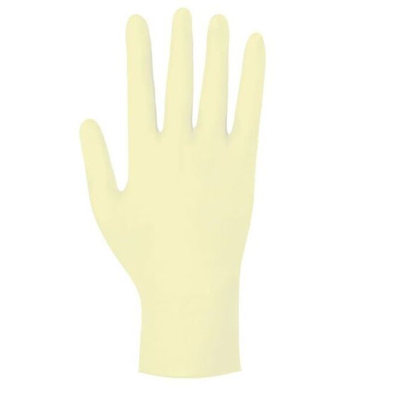 Latex Einmalhandschuh, Meditrade Gentle Skin SENSITIVE S
